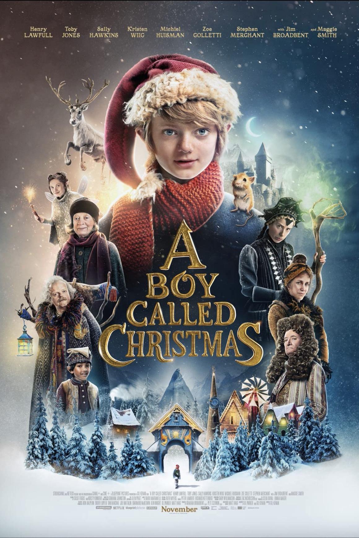 映画『クリスマスとよばれた男の子』ビジュアル